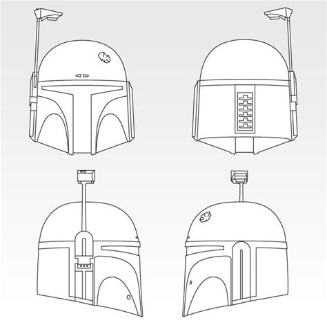 25 best ideas about boba fett helmet on pinterest boba