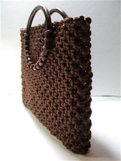 Macrame Bags Tutorials - el macram 233 y la moda bolsos artesan 237 a llangka