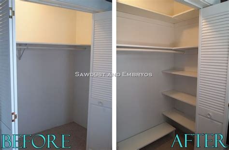 how to build your own custom closet organizer