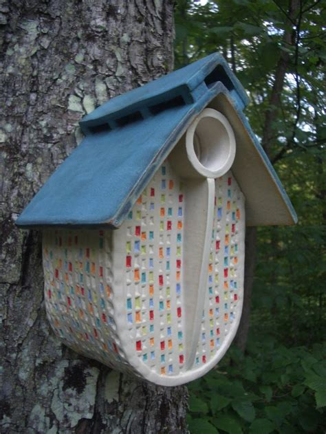 Ceramic Birdhouses Handmade - 38 best images about my ceramic work on
