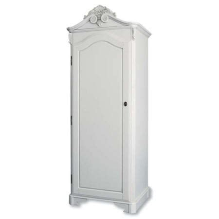 beau white single wardrobe furniture123