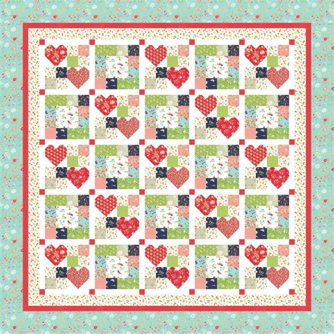 design patterns document editor heart to heart pdf quilt pattern by mountain rose designs