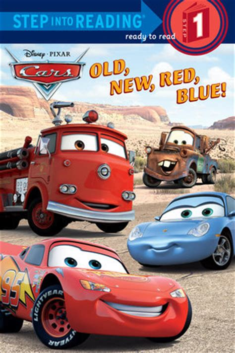 books about cars and how they work 2006 volkswagen passat engine control step into reading old new red blue disney pixar cars