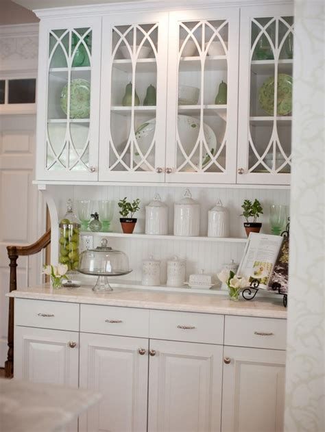 kitchen glass cabinet best 25 glass cabinets ideas on glass kitchen