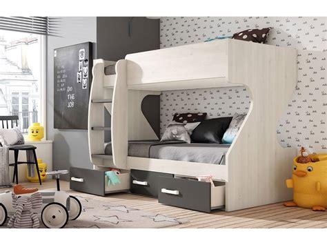tren cama sevilla barcelona modular juvenil con litera de 2 camas y 3 cajones