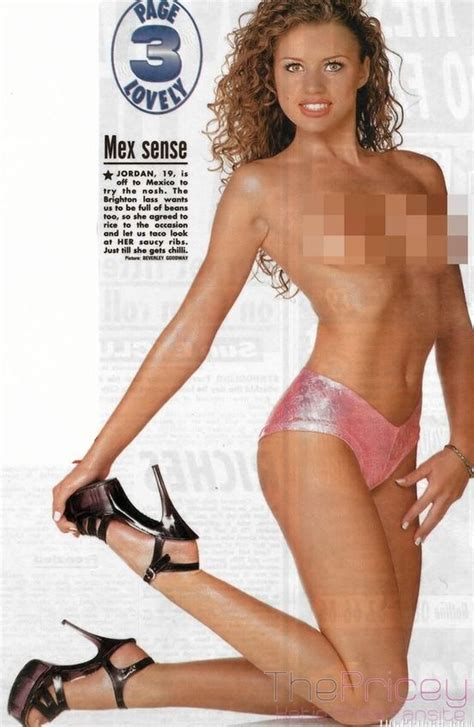 picture gallery katie price jordan page 3 model picture gallery 1 katie price the sun page 3 06 06 1997 katie price