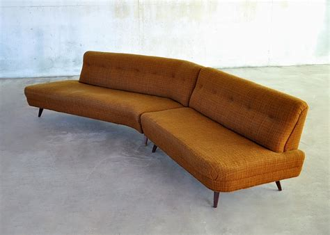 Mid Century Sectional by Select Modern Mid Century Modern Sectional Sofa