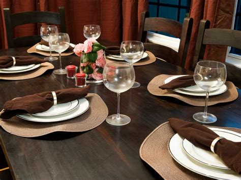 table settings ideas pictures everyday table settings hgtv