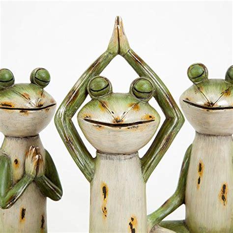 delightful yoga frog statues wackydecor