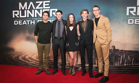 actor maze runner the death cure maze runner the death cure premiere a chat with dylan o