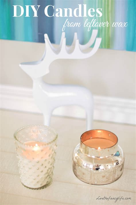 Anthropologie Home Decor by Diy Making New Candles Out Of Leftover Wax And Old Candle Jars