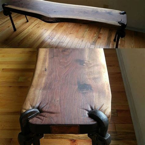 table legs for diy projects wood bench with repurposed pipe wrenches repurposing diy ideas repurposed