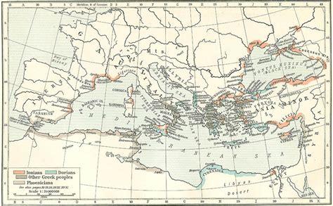 grecia antica cartina muta della grecia da stare