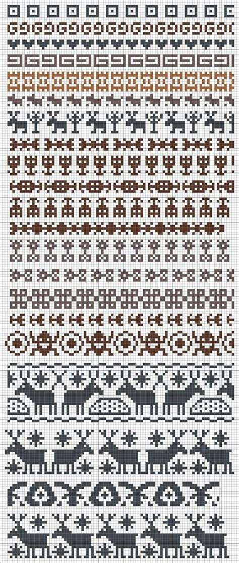 fair isle knitting motifs 108 best images about knitting motifs on