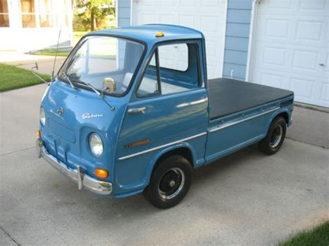subaru sambar mini truck this 1969 subaru sambar 360 pickup truck is photo of the