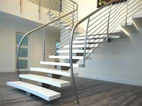 Stairs And Banisters 15 Concrete Interior Staircase Designs Home Design Lover
