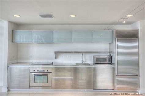 Kitchen Cabinets Modern Stainless Steel 002 S24533023 Frosted Glass Doors For Kitchen Cabinets