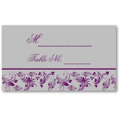 purple place cards template 1000 ideas about place card template on