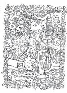 cat coloring pages for adults creative cats colouring book i marjorie sarnat