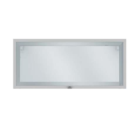 meuble cuisine haut porte vitr馥 elia meuble de cuisine haut court 1 porte vitr 233 e blanc