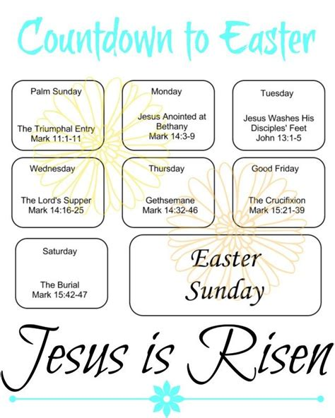 printable children s version of the easter story 76 best images about ash wednesday easter on pinterest