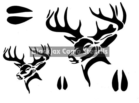Bone Collector Home Decor by Pin Camo Stencils Hunting Stencileasecom On Pinterest