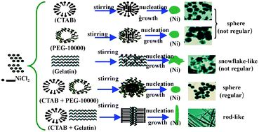 Modifiers Assisted Formation Of Nickel Nanoparticles And | modifiers assisted formation of nickel nanoparticles and