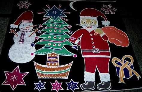 vanathi s rangoli art crafts rangoli for christmas