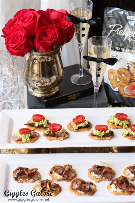 Oscars Menu Recap Recipes Galore by Dallas Buyers Club Pretzel Crisps Steak Bites