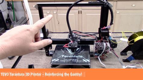 Printer 3d Tarantula tevo tarantula 3d printer reinforcing the gantry