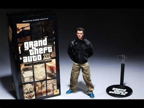 gta v figures gta iii 10 year anniversary limited edition claude figure