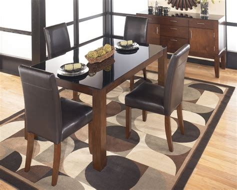 modern furniture el paso alyn dining collection from national furniture liquidators