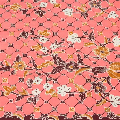 Kain Batik Pink kain batik tulis sekar jagad pink