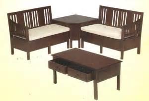 Set Sofa Bed Meja Kursi Tamu Sudut Minimalis Furniture Living Room kursi tamu sofa
