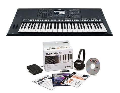 Yamaha Keyboard Workstation Psr S750 yamaha psr s750 arranger keyboard with free arranger survival reverb