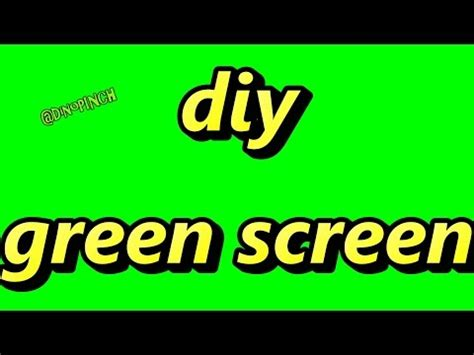 paint color for green screen make your own green screen for production editing