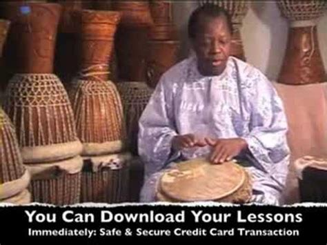 african drum tutorial youtube djembe drumming lesson overview with master african