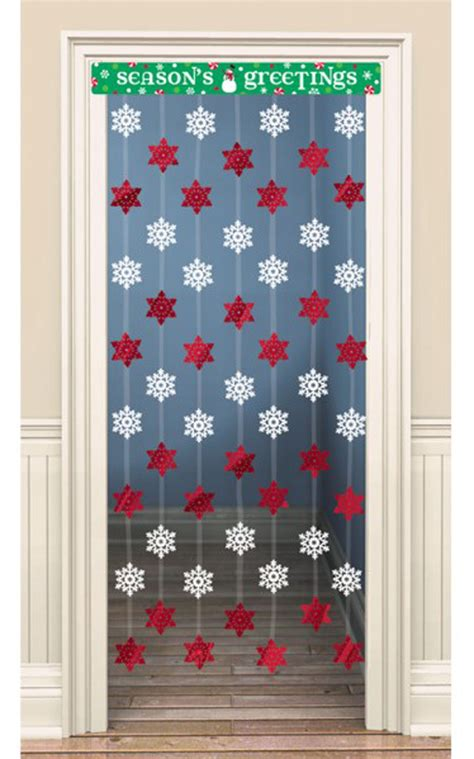 Snowflake Hanging Decoration snowflake door curtain decoration hanging