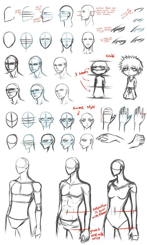 4 Drawing Techniques by Basic Drawing Tips By Destatidreamxiii Deviantart