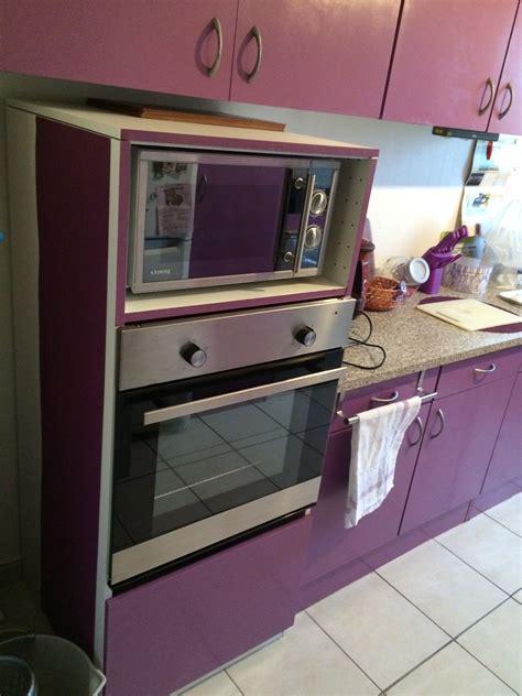 meuble de cuisine pour four et micro onde meuble de cuisine pour four encastrable 5 colonne four