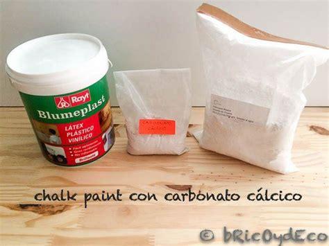 chalk paint yeso m 225 s de 1000 ideas sobre recetas de pintura de tiza en