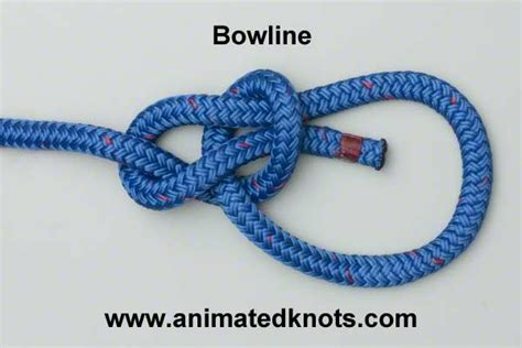 boat bow knot how to tie a bowline knot hiking and outdoors