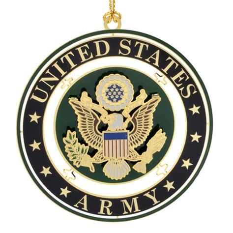 the white house historical association us army seal ornament white house historical association chemart keepsake