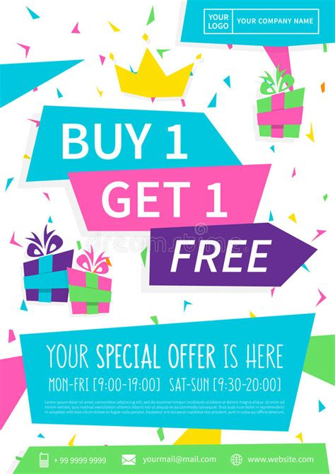 Ready Stock Buy 1 Get 1 Free Syal Scarf Twilly Batik Majesty promotion banner buy get 1 free vector illustration stock vector illustration of flyer card
