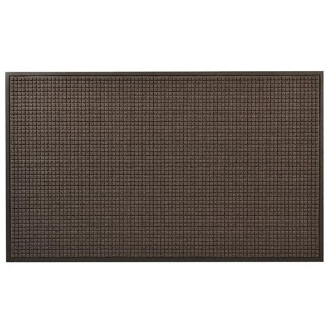 Home Depot Outdoor Mats by Achim Home Welcome 18 In X 30 In Outdoor Rubber Entrance