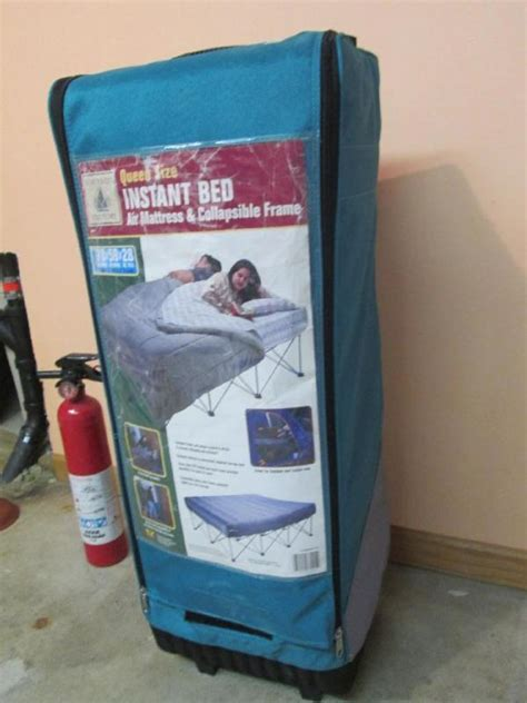 northwest territory queen size instant bed air mattress