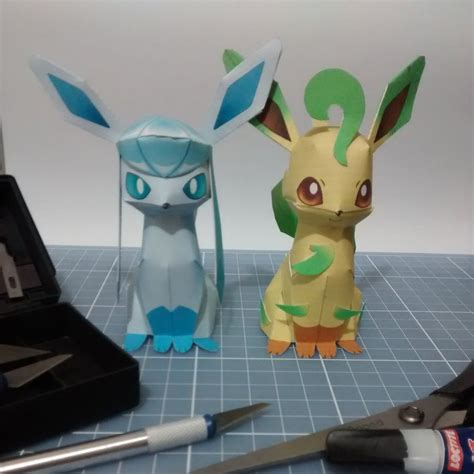 Leafeon Papercraft - anime leafeon images images