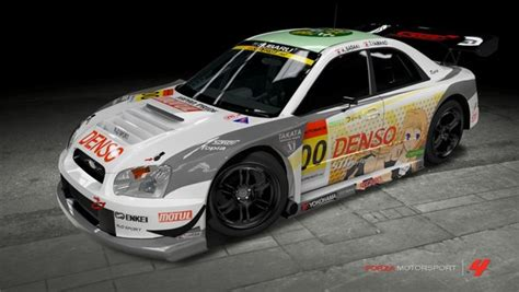 My Subaru Login by My Konoe Subaru Gt Race Car Itasha On Forza4 By