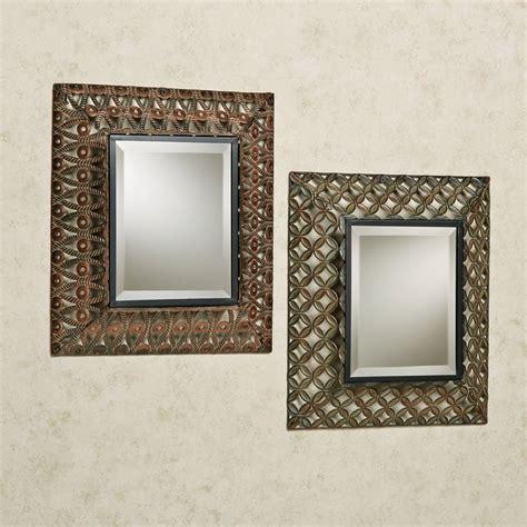 metal accent wall raghnall cutwork metal accent wall mirror set