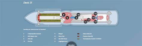 aidaprima deckplan aidaperla informationen routen buchen ab 585